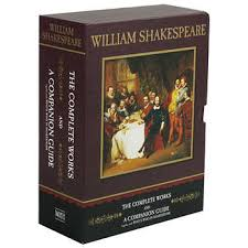 William Shakespeare The Complete Works And A Companion Guide Box Set