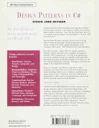 Java Decorator Pattern Reader by Design Patterns In C Software Patterns Paperback Amazon Co