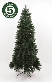 Artificial Christmas Trees Uk 6ft by Best Artificial Slim Premium 7ft 205cm Real Feel Hinged