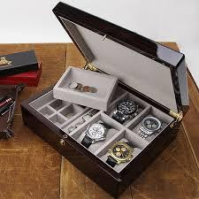 Dresser Valet Watch Box watch boxes u0026 valets american box