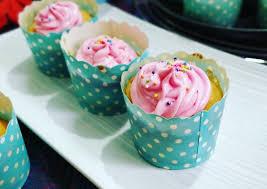 Vanilla Sponge Cupcake With Italian Buttercream Frosting