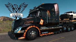 Volvo Vnl   American Truck Simulator Mods - Part 2 Deer Guard Volvo Vnl 042016 Grill Bumper Protector Stainless Steel Trucks North America New Vnx Series Built Dangerous Goods Sign On The Bumper Of A Truck Stock Photo Vhd Axle Back Sleeper Cab Tractor Truck 2000 3d Model Hum3d Bbc Autos Make Way For Worlds Faest 1998 Vn Semi Sale Sold At Auction June 26 2014 Only 71800 Fast Delivery Hameenlinna Finland July 11 2015 White 64t 670 Fmx Rugged Design Syria 2013 Used Vnl670 Premier Group Serving Usa Canada