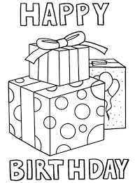 Well Suited Design Coloring Pages Birthday Cards Gift Page