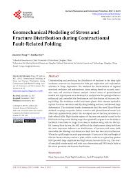 pdf geomechanical modeling of stress and fracture