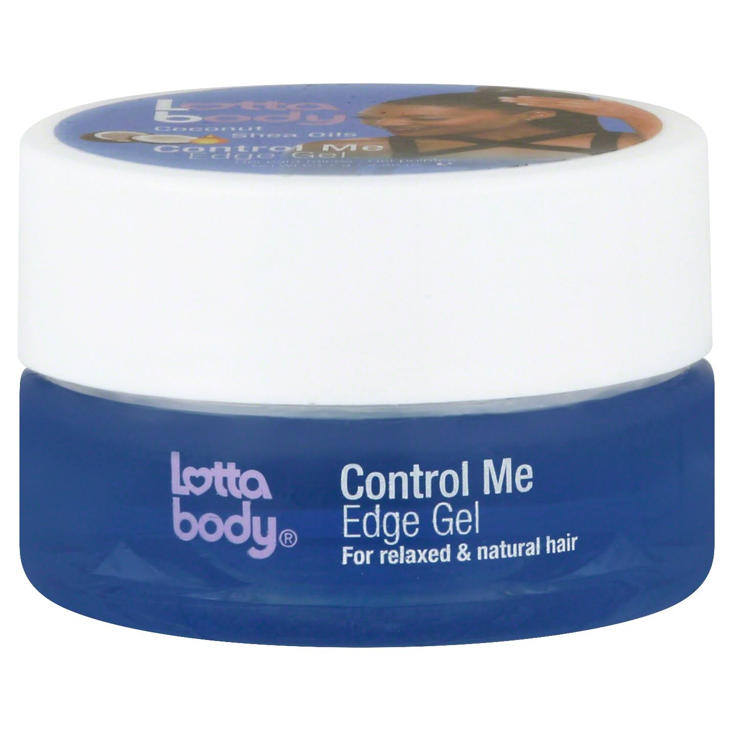 Lottabody Coconut and Shea Oils Control Me Edge Gel - 70ml