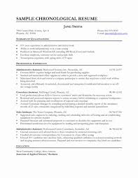 Sample Resume Examples Administrative Correspondence New For Clerical Inspirational Front Desk