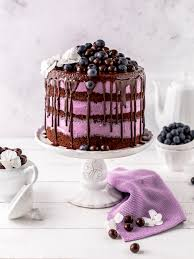 blaubeer schoko layer cake s lieblingsstücke