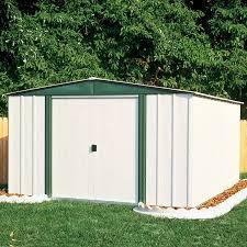 Storage Shed Kits 6 X 8 by Arrow Sr68206 10 U0027 X 6 U0027 Gable Steel Lawn Building Shop Your Way