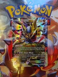 pokemon giratina ex ancient origins near mint condition yugioh