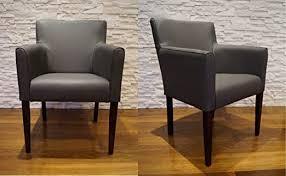 quattro meble breite echtleder esszimmerstühle arm dunkelgrau leder massivholz stühle lederstühle sessel mit armlehnen echt leder esszimmer