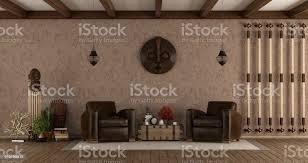 wohnzimmer im ethnostil stockfoto und mehr bilder alt