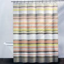 Navy And White Striped Curtains Amazon by Amazon Com Dkny Fabric Shower Curtain Crosby Stripe Pale