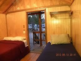 Moab Valley RV Resort Campground Cabin From Inside Looking Out