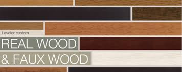 Levolor Wood Blinds and Faux Wood Blinds