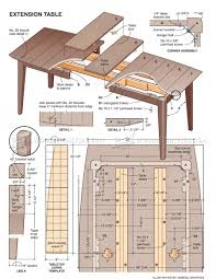 Extension Dining Table Plans