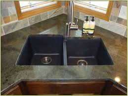 Black Kitchen Sink Faucet by Granite Countertop Kraftmaid Kitchen Cabinet Doors Sealing