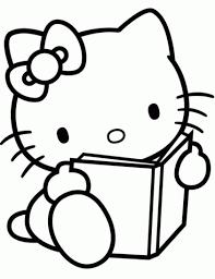 Dessin à Colorier Hello Kitty