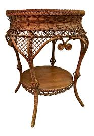 Heywood Wakefield Dresser Los Angeles by Antique Heywood Wakefield Wicker Side Table Chairish