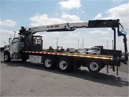 100 Bucket Trucks For Sale In Pa 2005 STERLING LT9500 Boom Crane Truck Auction Or