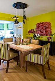How To Use Green Create A Fabulous Dining Room