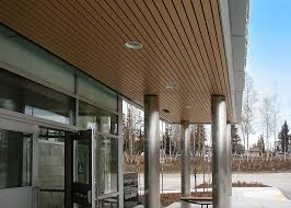 Rulon Suspended Wood Ceilings by Blood Bank Of Alaska Rulon International Inc
