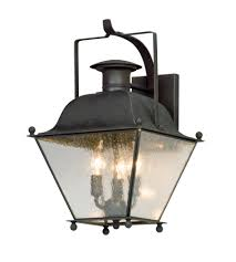 shop for troy lighting b5072ci 1 light outdoor wall lantern