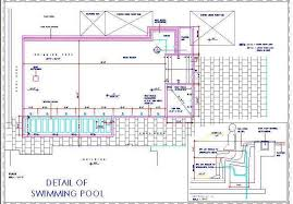 Swimming Pool Plan Layout With Jacuzzi