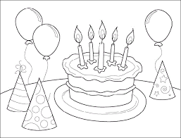 Smartness Design Birthday Coloring Pages Printable Happy