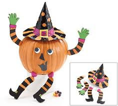 Pumpkin Push Ins Decorating Kit by Pumpkin Toppers And Pins And Holders Halloween Wikii