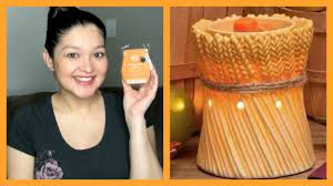 Pumpkin Scentsy Warmer 2014 by Scentsy October 2014 Scent Warmer Of The Month Sotm Wotm Youtube