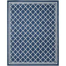 8 X 10 Blue Outdoor Rugs Rugs The Home Depot
