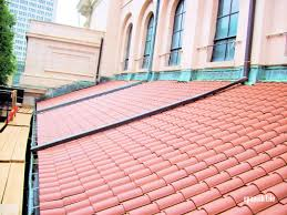 composite barrel tile lightweight concrete roof tiles synthetic