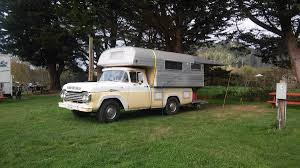 Classic Ford F250 Truck With Sport King Cab Over Camper – Truck ...