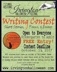 Irvington Halloween Festival 2017 by Irvingtonhalloween Writing Contest