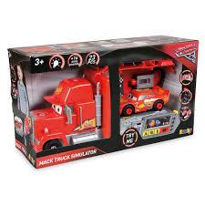 100 Disney Cars Mack Truck Hauler Smoby DIY Red