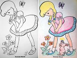 Funny Children Coloring Book Corruptions 25