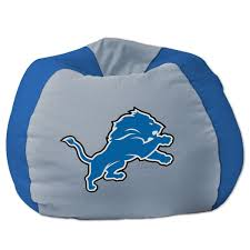detroit lions bean bag chair nflshop com
