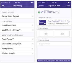 RushCard iPhone App