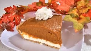 Pumpkin Chiffon Pie With Cool Whip by No Bake Pumpkin Pie Recipe Happy Thanksgiving Youtube
