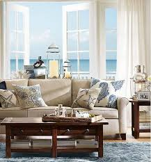Pottery Barn Style Living Room Ideas by 88 Best Design Trend Coastal Style Images On Pinterest Cottage