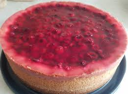 himbeer pudding schmandkuchen
