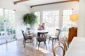 Emily Henderson New House Modern English Cottage Updates Dining Room 8