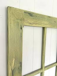 Window Frames Wall Decor Rustic Frame Style