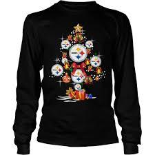 Pittsburgh Steelers Christmas Tree Shirt