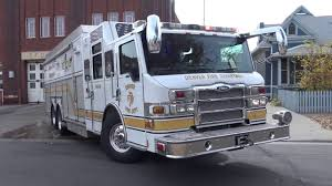 100 Denver Trucks Fire Engine 11 Rescue 1 Responding YouTube