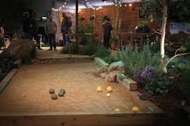 Stunning Indoor Bocce Ball Court Contemporary - Interior Design ... Bocce Ball Courts Grow Land Llc Awning On Backyard Court Extends Playamerican Canvas Ultrafast Court Build At Royals Palms Resort And Spa Commercial Gallery Build Backyards Wonderful Bocceejpg 8 Portfolio Idea Escape Pinterest Yards