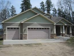 Garage Modern Car Design 2 Story Apartment Plans Rustic Front House Plan Large