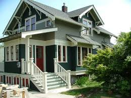 Photo Of Craftsman House Exterior Colors Ideas by Brown Craftsman Homes Functional Option For Home Decorating