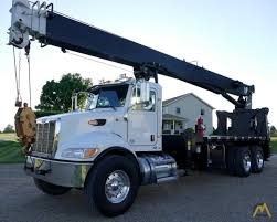Manitex 30124C 25-ton Boom Truck On Peterbilt 348 SOLD Trucks Cranes ...