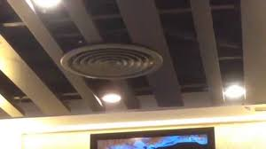 Round Ceiling Air Vent Deflector by Rotary Hvac Air Conditioning Vents In A Local Hong Kong